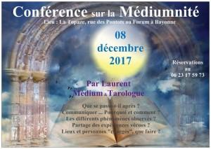 La médiumnité 08 décembre 2017