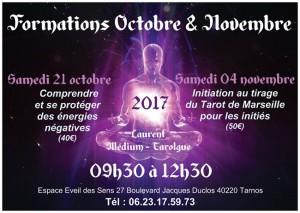 Octobre et Novembre 2017
