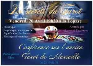 Tarot le 20 avril