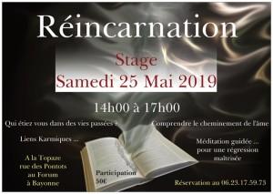 réincarnation 25 mai